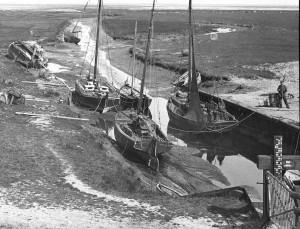 k-Kutter im Hafen